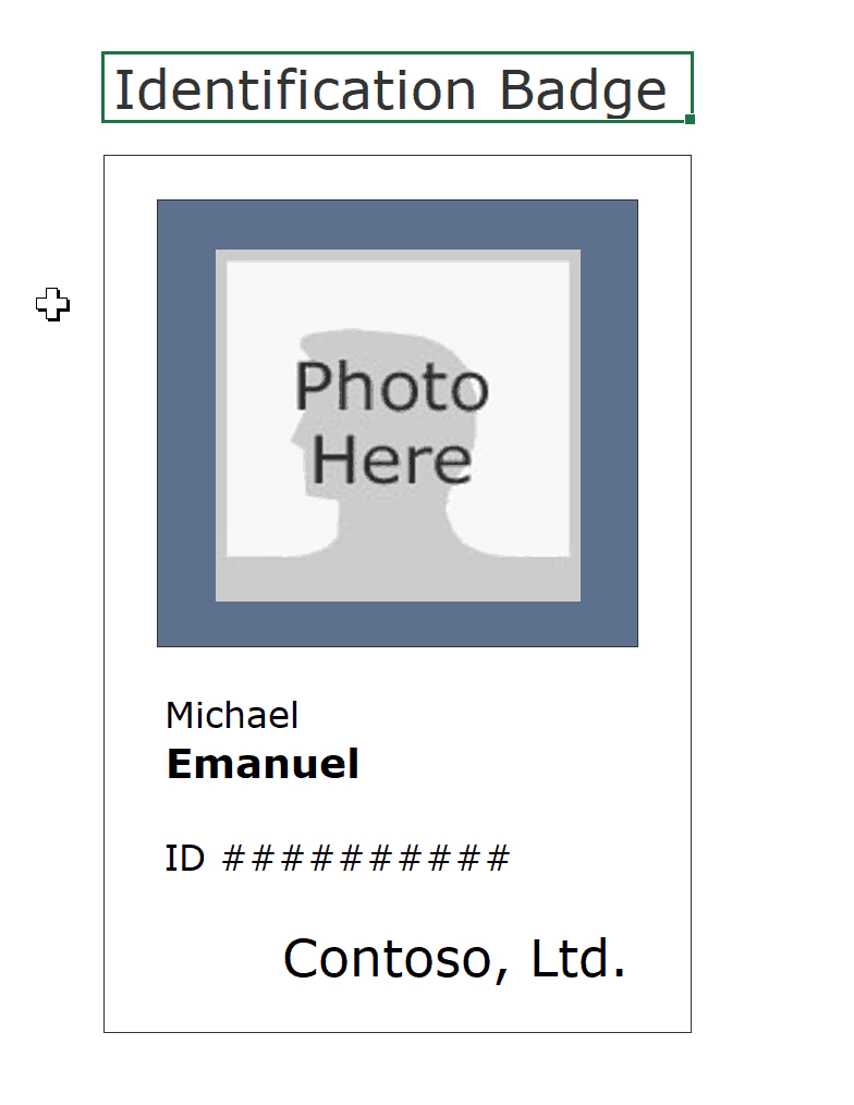 001 Id Badge Card Templates Free Template Archive Within with regard to Id Badge Template Word