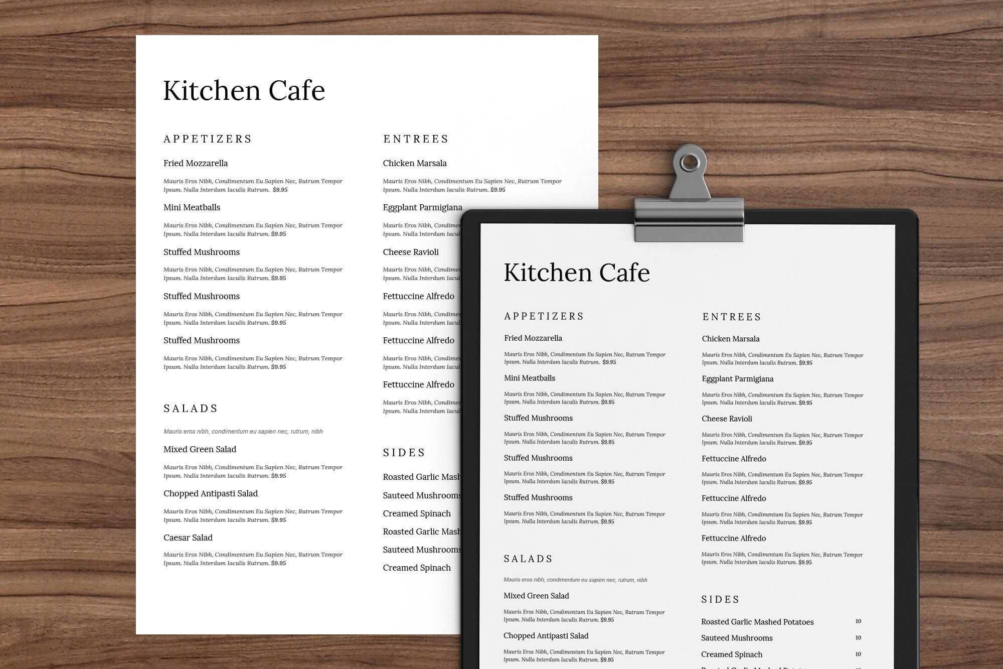 001 Menu Templates Free Download Word Template Dreaded Cafe with Free Cafe Menu Templates For Word