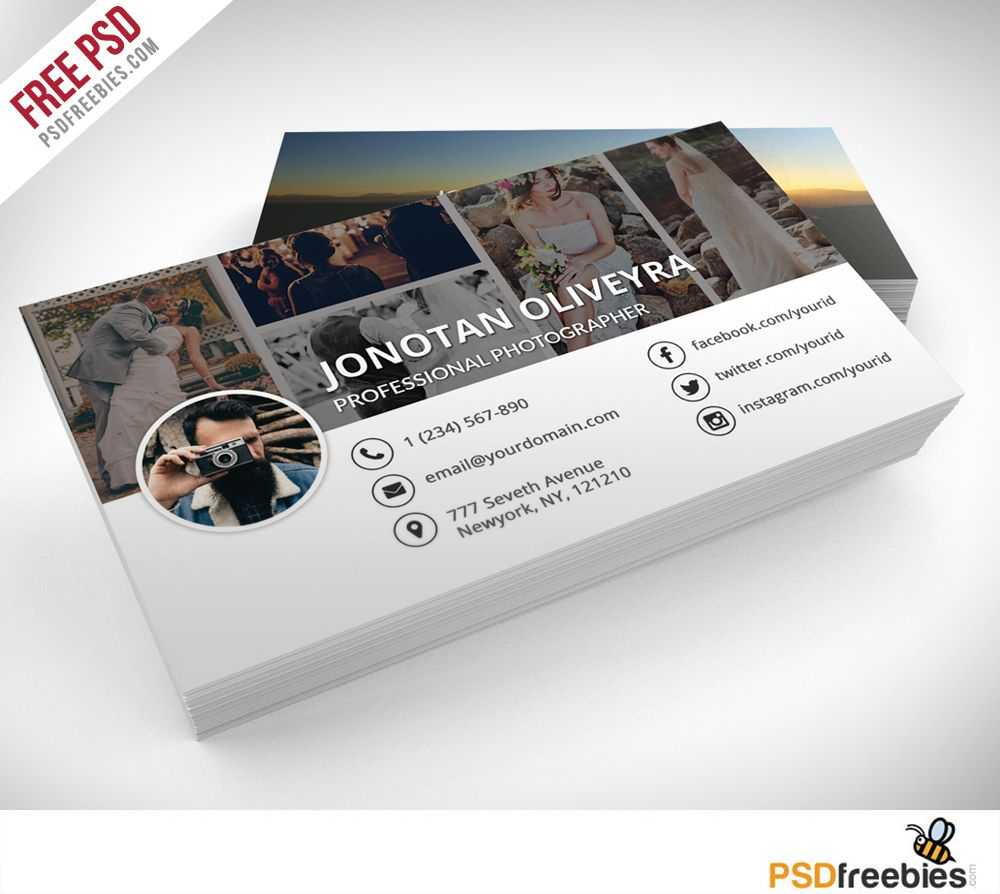 001 Photographer Business Card Template Psd Free Ideas intended for Photography Business Card Template Photoshop