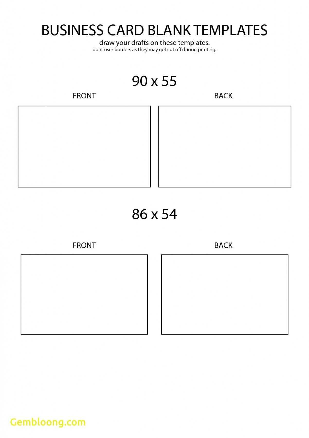 002 Blank Business Card Template Free Download Ideas pertaining to Business Card Size Template Psd