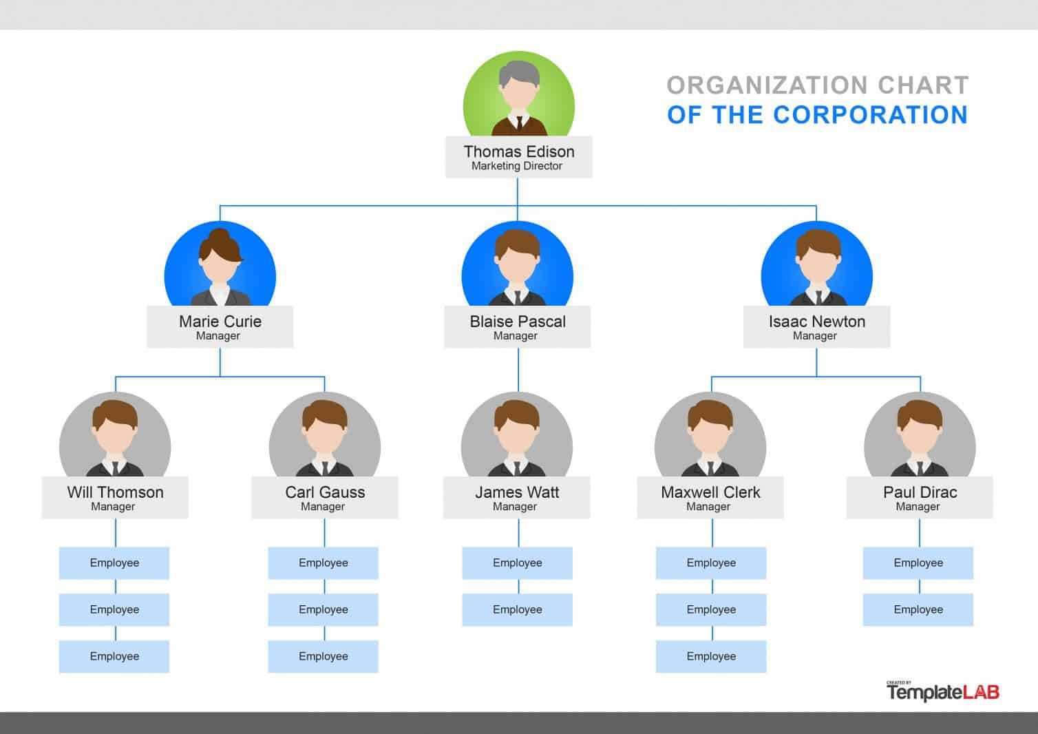 002 Microsoft Organizational Chart Template Free Templatelab inside Org Chart Template Word