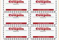 002 Template Ideas Free Printable Coupon Beautiful Templates with Coupon Book Template Word