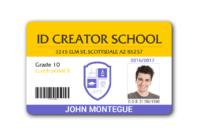 004 School Id Card Template Photoshop Marvelous Ideas intended for Teacher Id Card Template