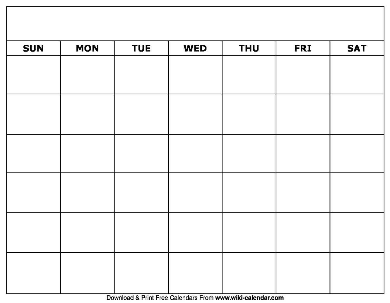 005 Blank Calendar Template Ideas Striking Printable Pdf Within Full Page Blank Calendar Template