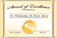 005 Sample Certificate Of Appreciation Word Format Png in Generic Certificate Template