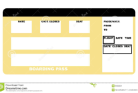 006 Airplane Invitations Tickets Blank Plane Ticket with regard to Plane Ticket Template Word