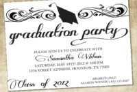 006 Graduation Invitation Templates Microsoft Word Template regarding Graduation Invitation Templates Microsoft Word