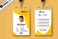 010 Template Ideas Employee Id Card Design Psd Multipurpose intended for Company Id Card Design Template