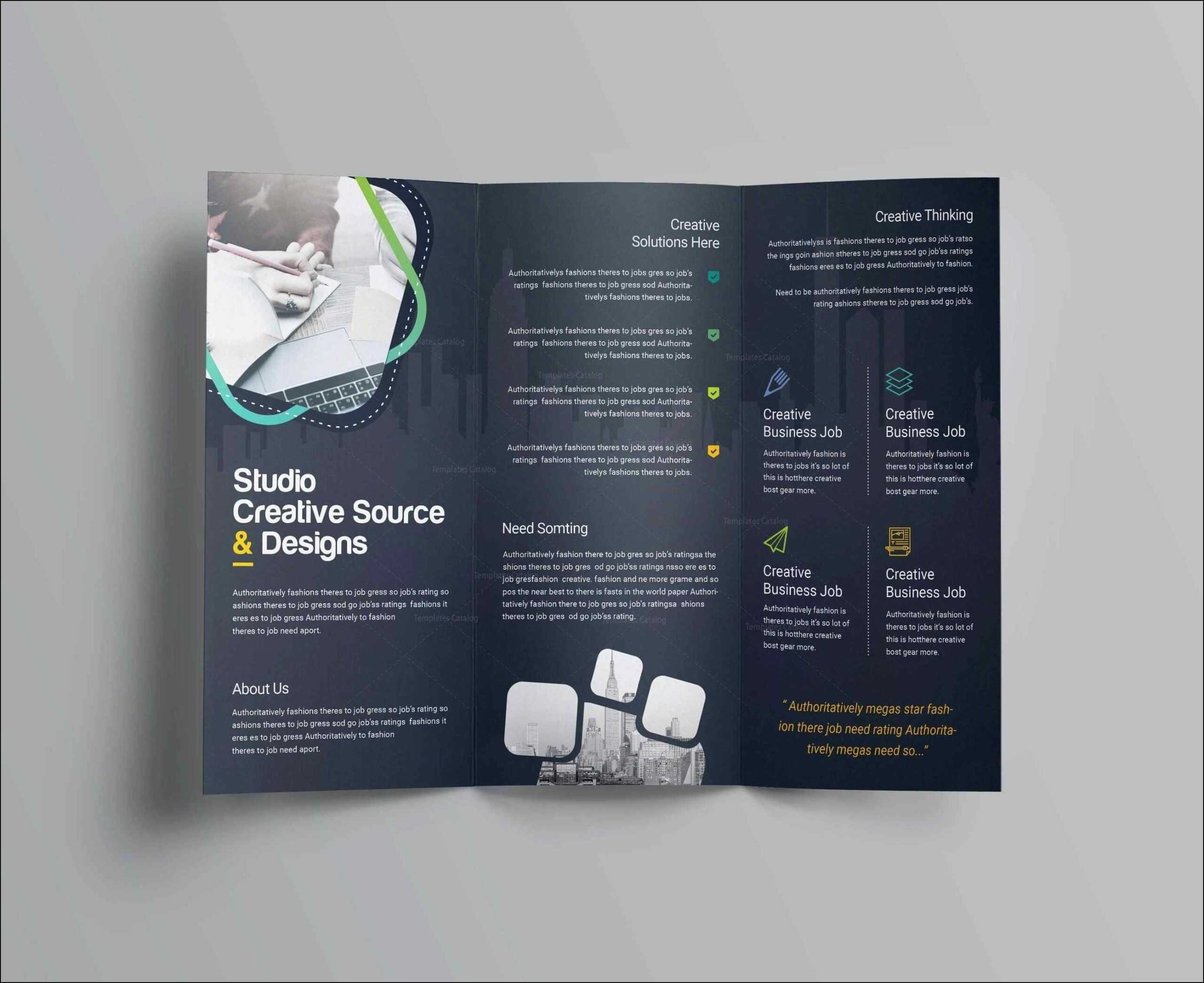 010 Template Ideas Flyer Templates For Word Free Bifold in Microsoft Word Brochure Template Free