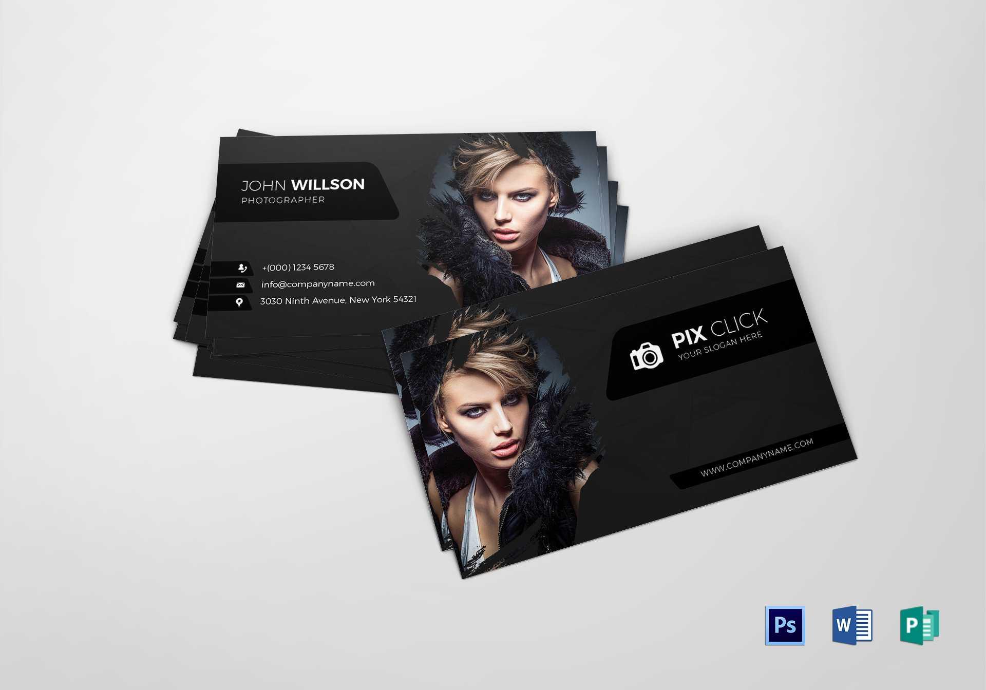 010 Template Ideas Photographer Business Card Psd Free with Photography Business Card Template Photoshop