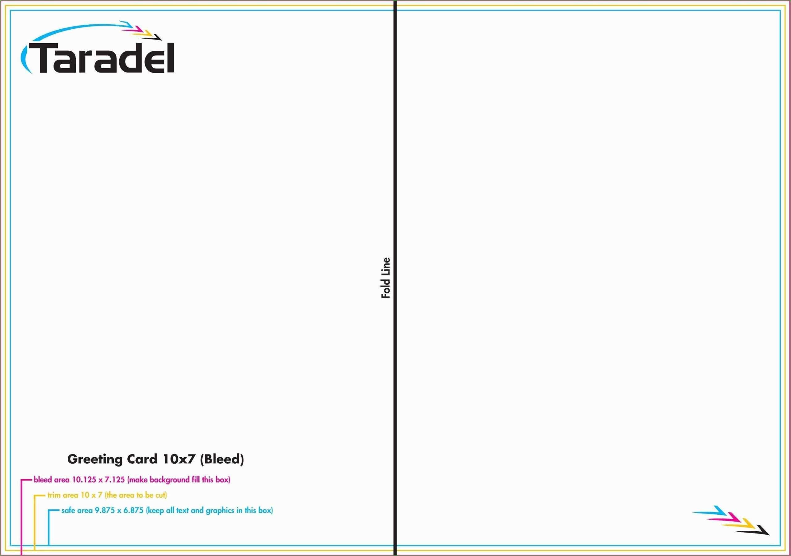 014 Greeting Card Template Photoshop Free Quarter Fold in Birthday Card Template Indesign