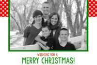014 Polkadotchristmascardsample Template Ideas Christmas with regard to Free Christmas Card Templates For Photographers