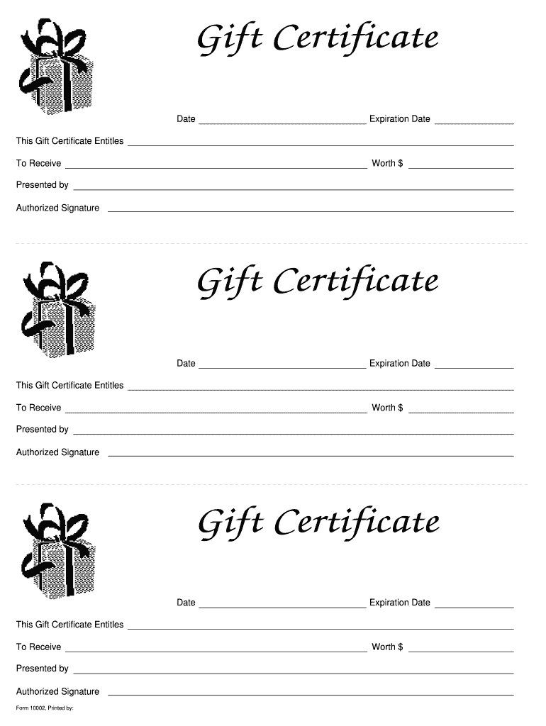 014 Template Ideas Free Gift Certificate Templates Large intended for Black And White Gift Certificate Template Free