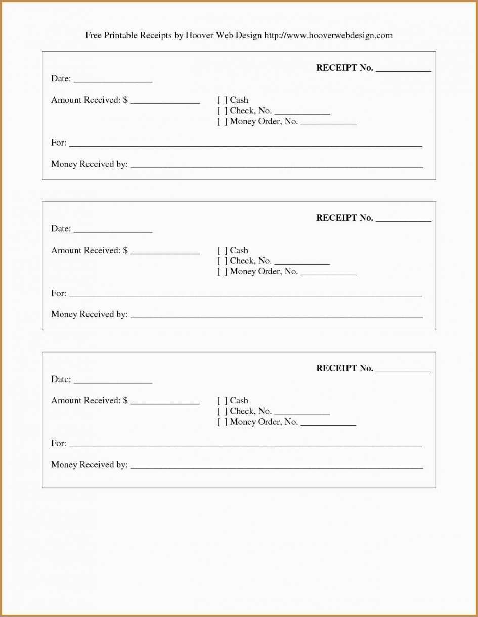 019 Template Ideas Receipt Fillable Pdf Blank Excel pertaining to Blank Money Order Template