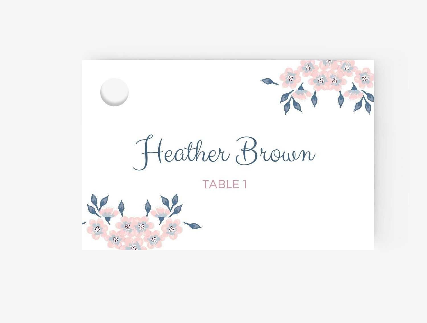 024 Place Card Template For Word Inspirational Beautiful pertaining to Microsoft Word Place Card Template