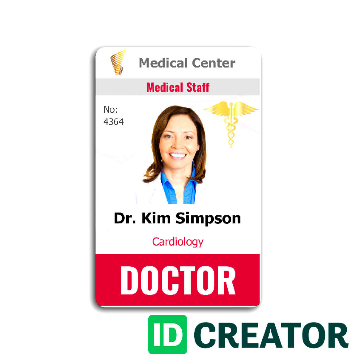 024 Student Id Card Templates Photoshop I Template Amazing with Doctor Id Card Template