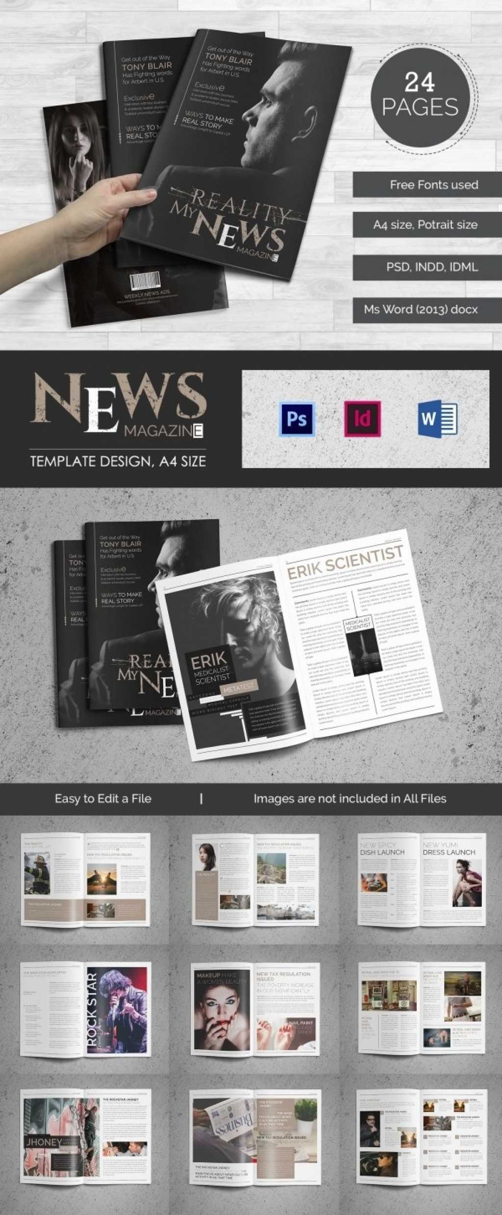 025 Template Ideas Magazine Free Word 4 R Unforgettable with regard to Magazine Template For Microsoft Word