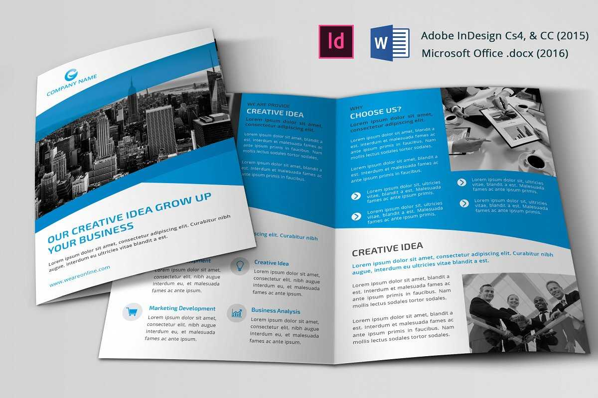 028 Template Ideas Indesign Brochure Templates Free Bi Fold within 2 Fold Brochure Template Free