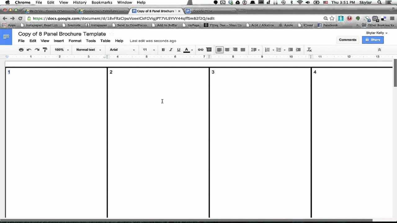 029 Brochure Templates For Google Docs Best Of Template with Google Docs Templates Brochure