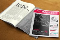 030 4K Magazine Free Magazines Cover Templates Template pertaining to Blank Magazine Template Psd