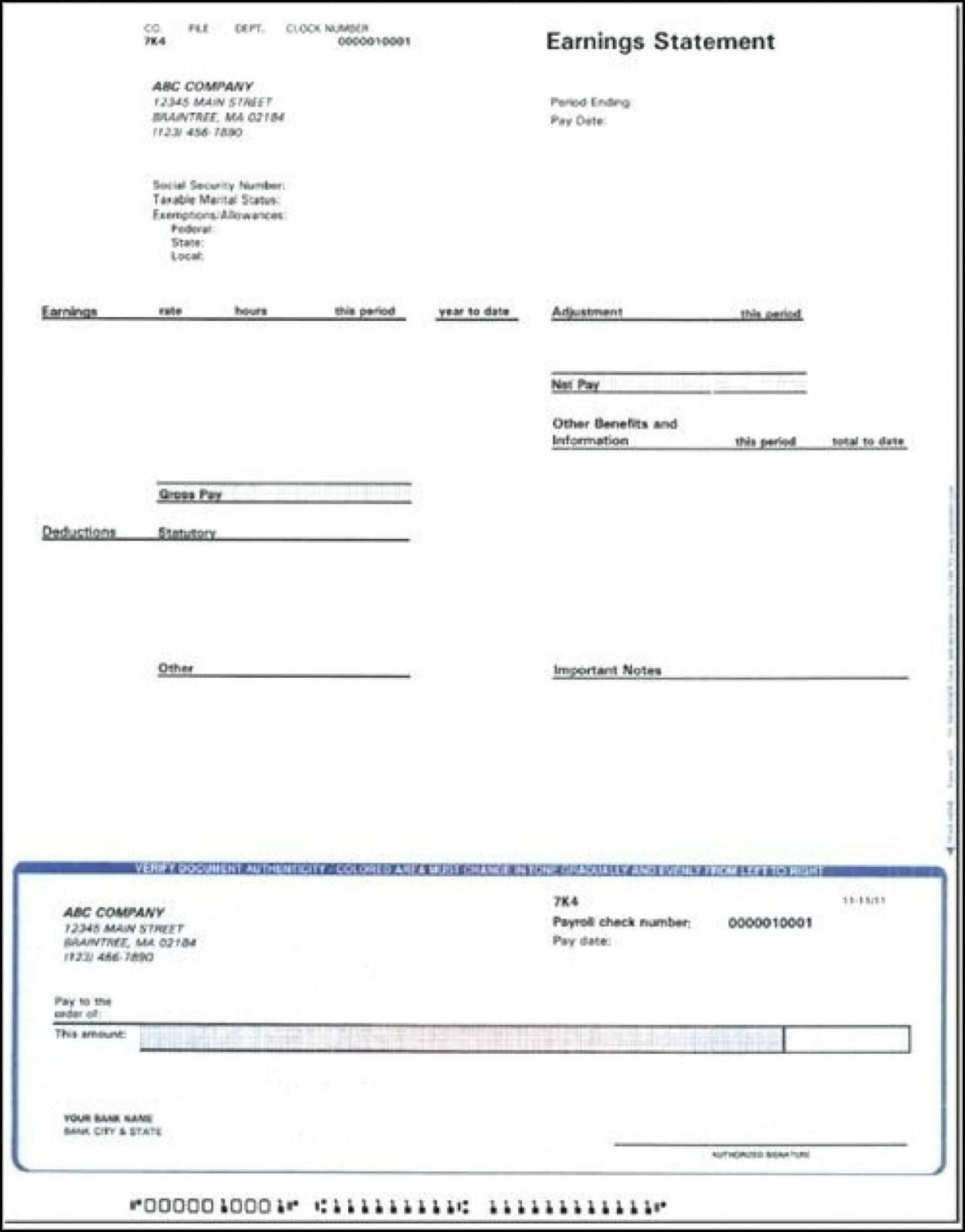 037 Blank Pay Stub Template Templates 1920X1459 Stirring with Blank Pay Stubs Template