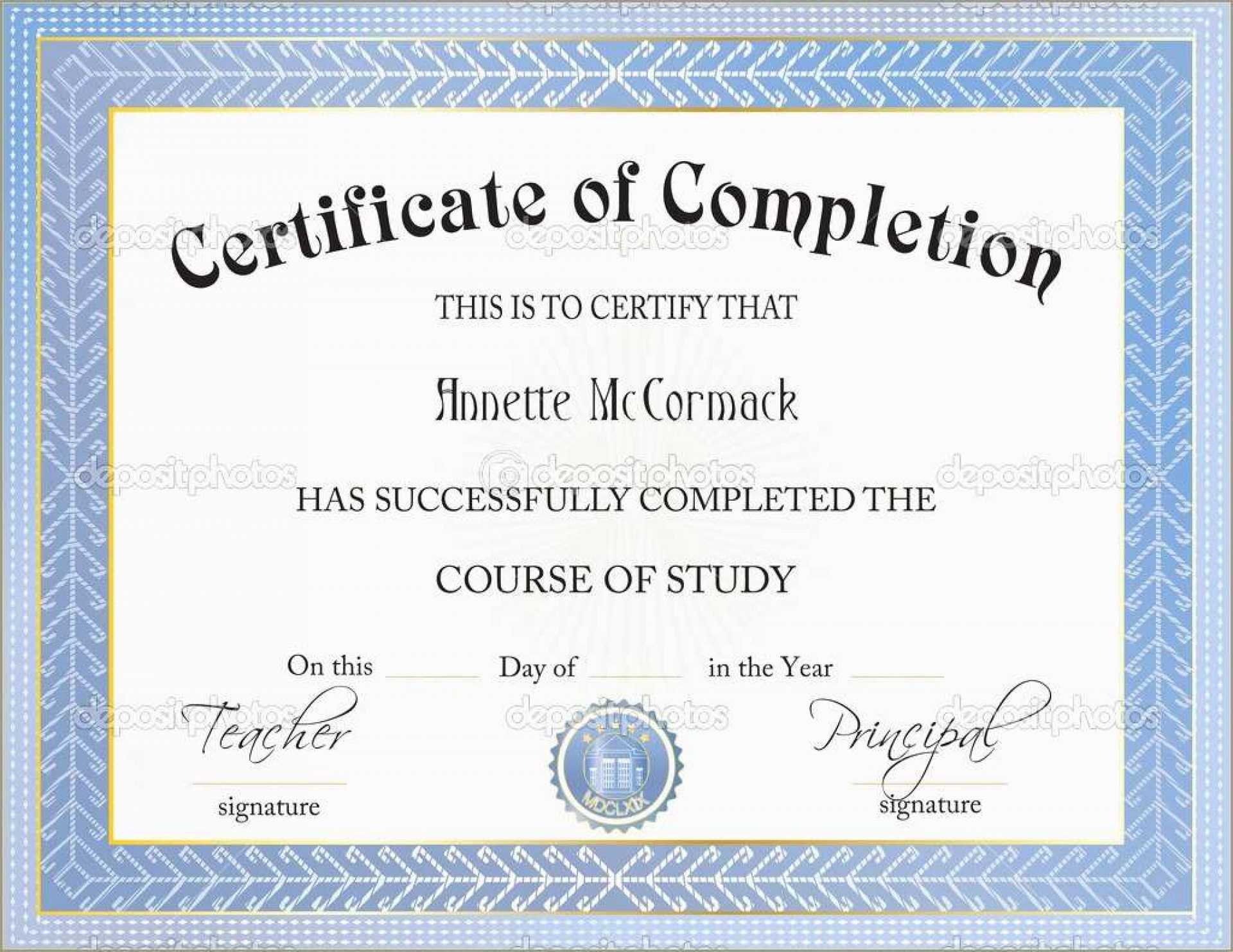039 Template Ideas Certificate Of Completion Free Amusing throughout Premarital Counseling Certificate Of Completion Template