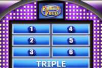 040 Template Ideas in Family Feud Powerpoint Template With Sound
