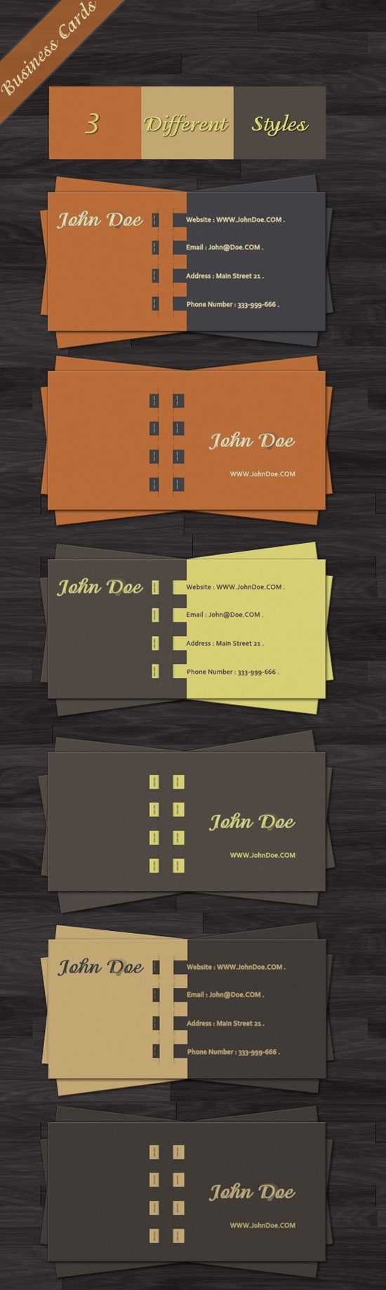 100 Free Business Card Templates - Designrfix for Visiting Card Templates For Photoshop