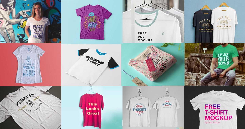 100+ T-Shirt Templates, Vectors & Psd Mockups [Free inside Blank T Shirt Design Template Psd