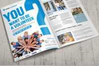 11+ Volunteer Flyers - Ms Word, Pages, Psd, Vector Eps pertaining to Volunteer Brochure Template