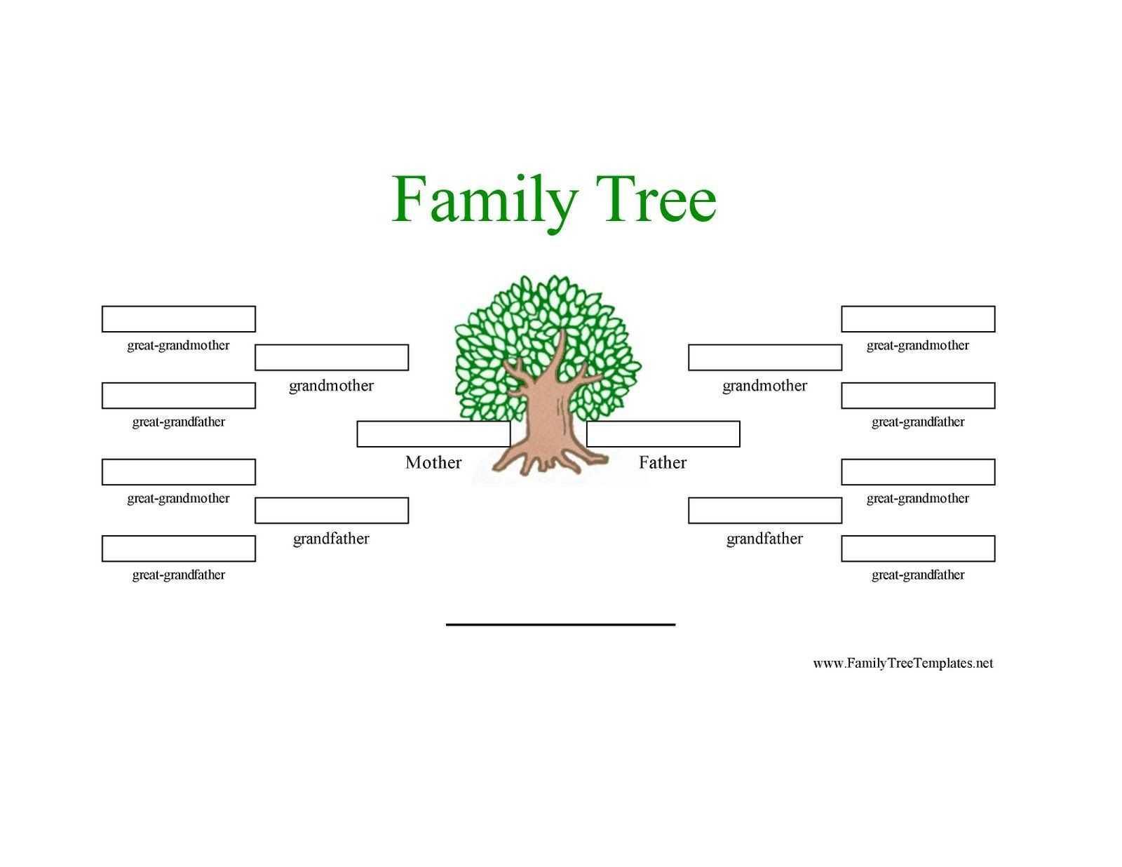 12 Generation Family Tree Sample | Generations Family Tree Throughout Blank Family Tree Template 3 Generations