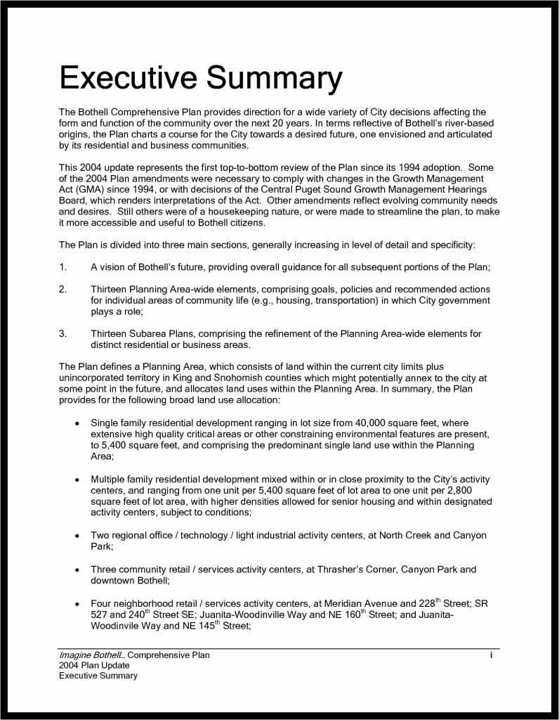 13+ Example Of Executive Summary For A Report   Vigamassi within Template For Summary Report