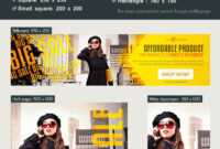 15 Free Online Shopping Banner In Psd | Free Psd Templates within Free Online Banner Templates