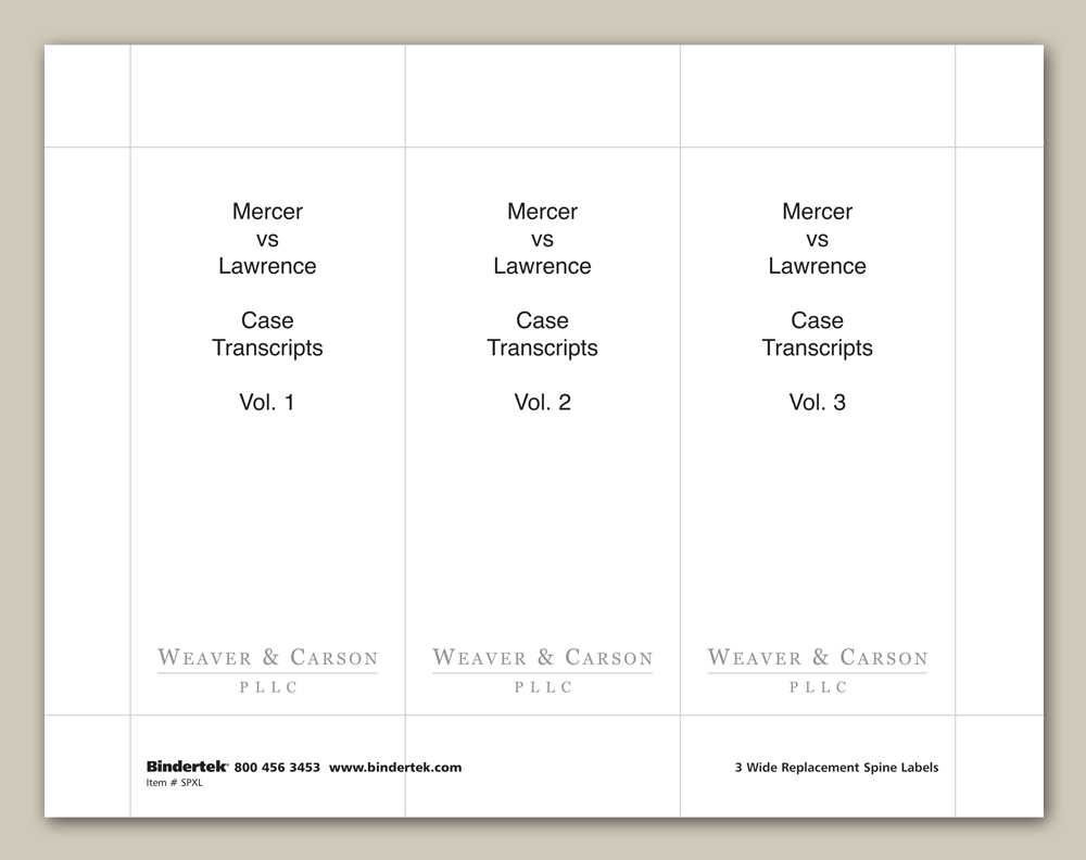2 Inch Binder Spine Template Intended For 3 Inch Binder Spine Template Word