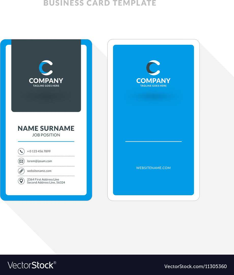 2 Sided Business Card Template Word (6) | Resume Layout With 2 Sided Business Card Template Word