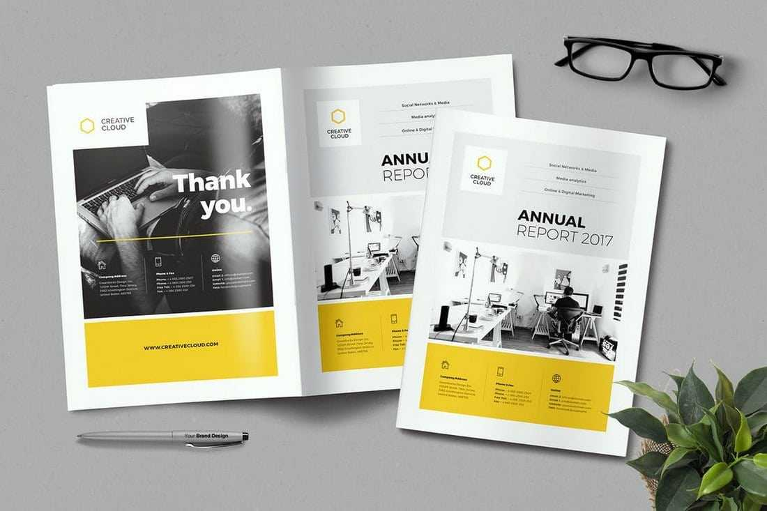 20+ Annual Report Templates (Word & Indesign) 2018 In Annual Report Template Word