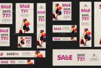 20 + Printable Product Sale Banners - Psd, Ai, Eps Vector with regard to Product Banner Template