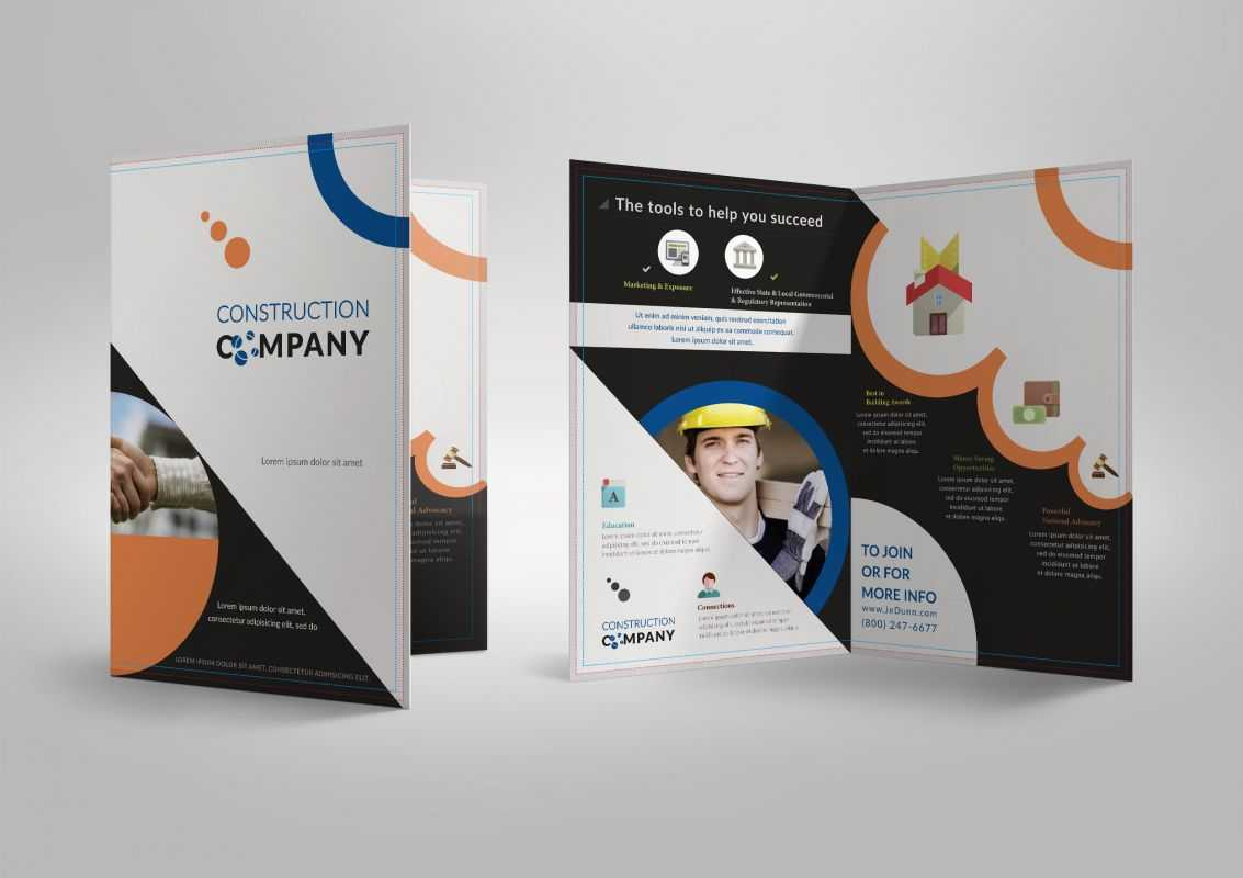 20 Single Fold Brochure Templates Throughout Half Page Brochure Template