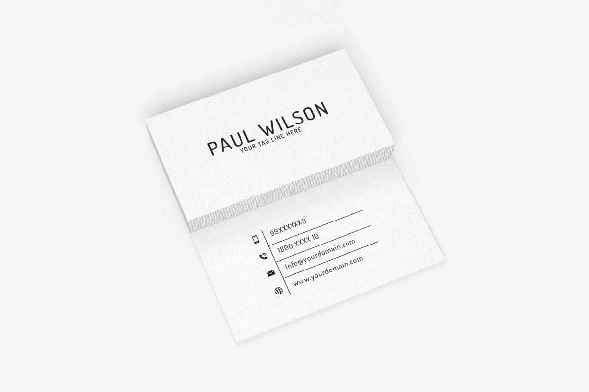 200 Free Business Cards Psd Templates – Creativetacos In Business Card Size Template Psd