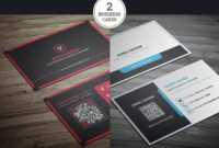 200 Free Business Cards Psd Templates – Creativetacos Inside Unique Business Card Templates Free
