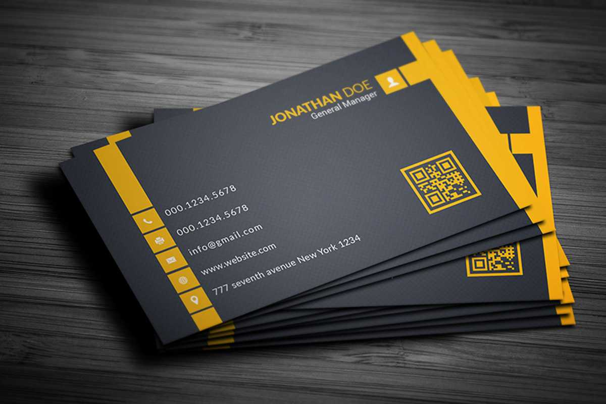 200 Free Business Cards Psd Templates - Creativetacos Intended For Free Bussiness Card Template