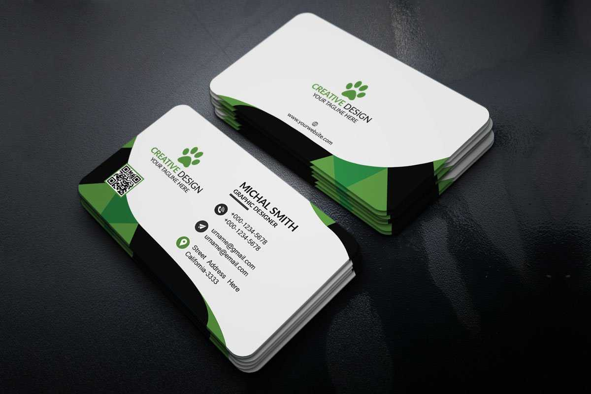 200 Free Business Cards Psd Templates - Creativetacos throughout Visiting Card Templates For Photoshop