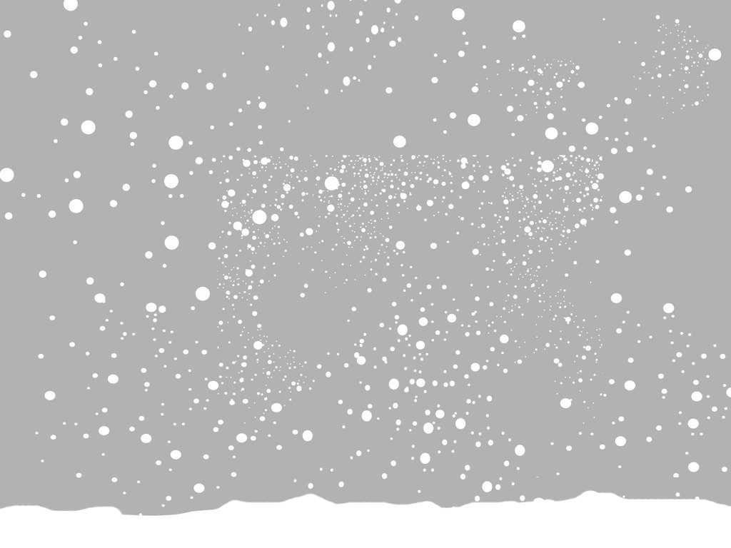 2012 Snow Christmas Backgrounds For Powerpoint - Christmas within Snow Powerpoint Template