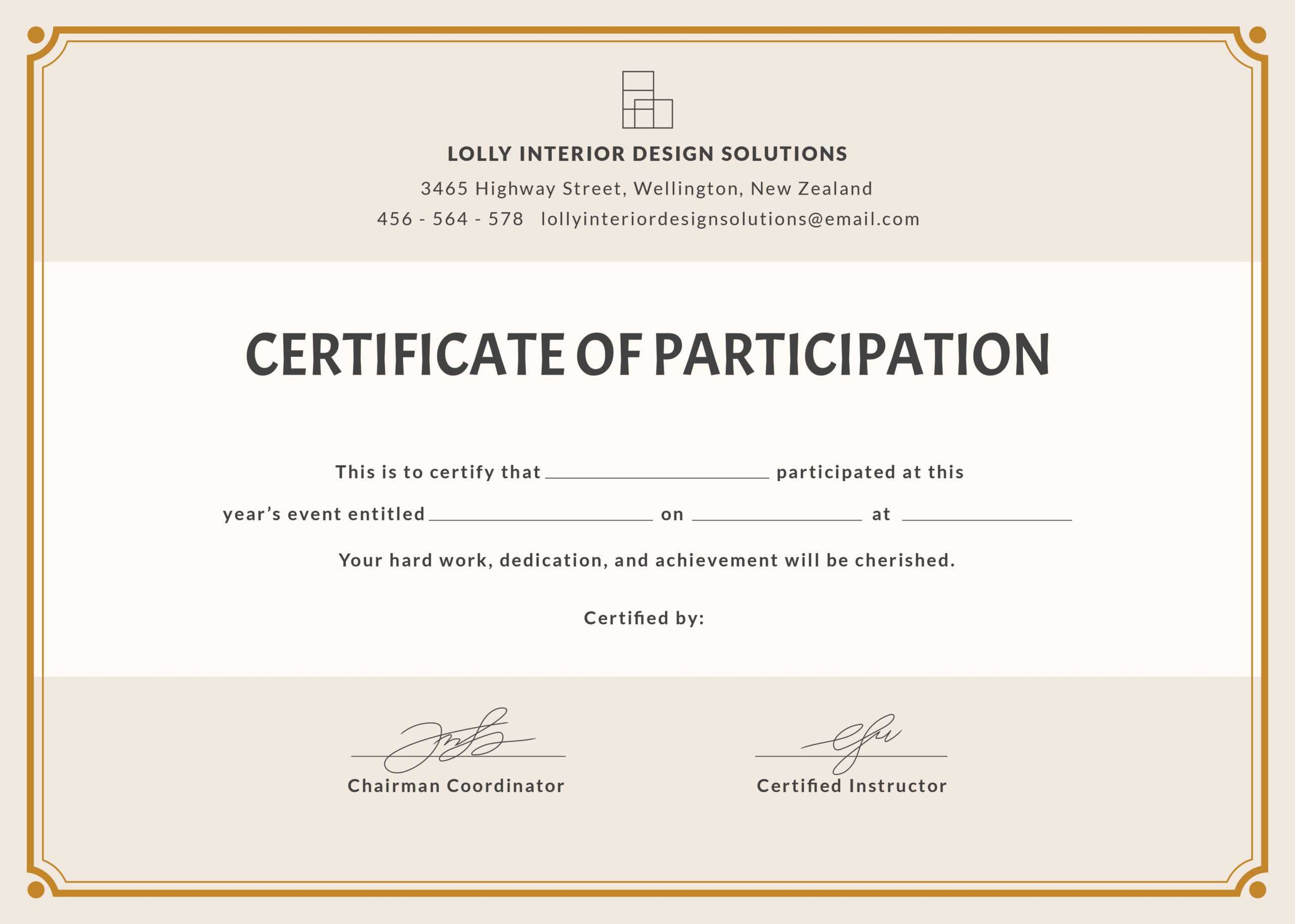 2019 Buildings Xiv International Conference Attendance in Conference Certificate Of Attendance Template
