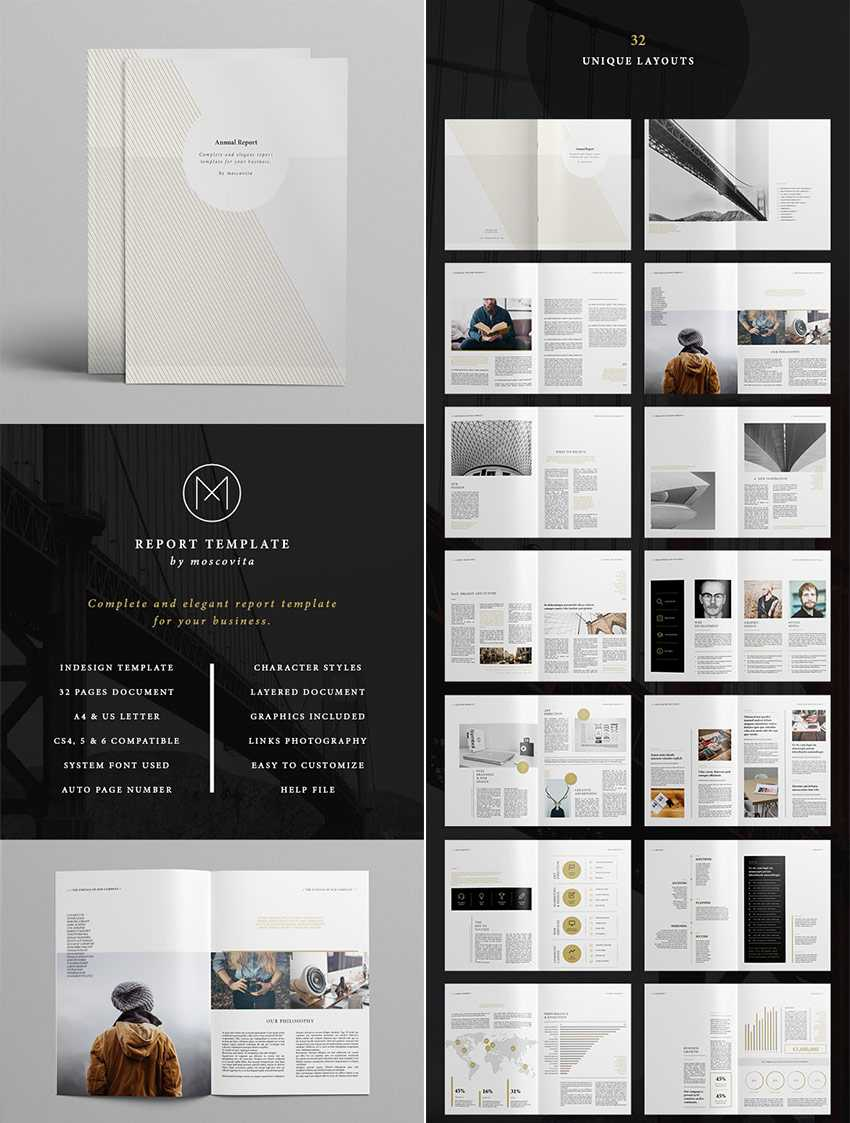 25+ Best Annual Report Templates - With Creative Indesign With Regard To Free Annual Report Template Indesign