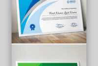 25+ Best Certificate Design Templates: Awards, Gifts With Regard To Manager Of The Month Certificate Template