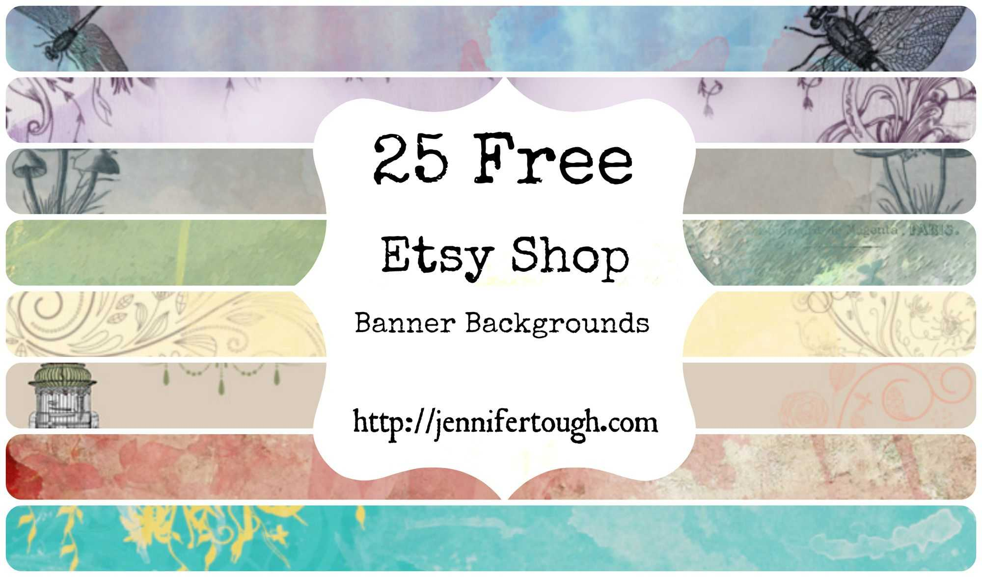 25 Free Etsy Shop Banner   Etsy   Etsy, Etsy Shop, Banner Inside Free Etsy Banner Template
