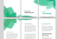 3 Panel Brochure Template Word Format Free Download regarding Free Brochure Template Downloads