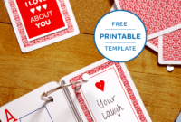 3 Small But Mighty Ways To Say I Love You | Diy Gifts for 52 Things I Love About You Deck Of Cards Template