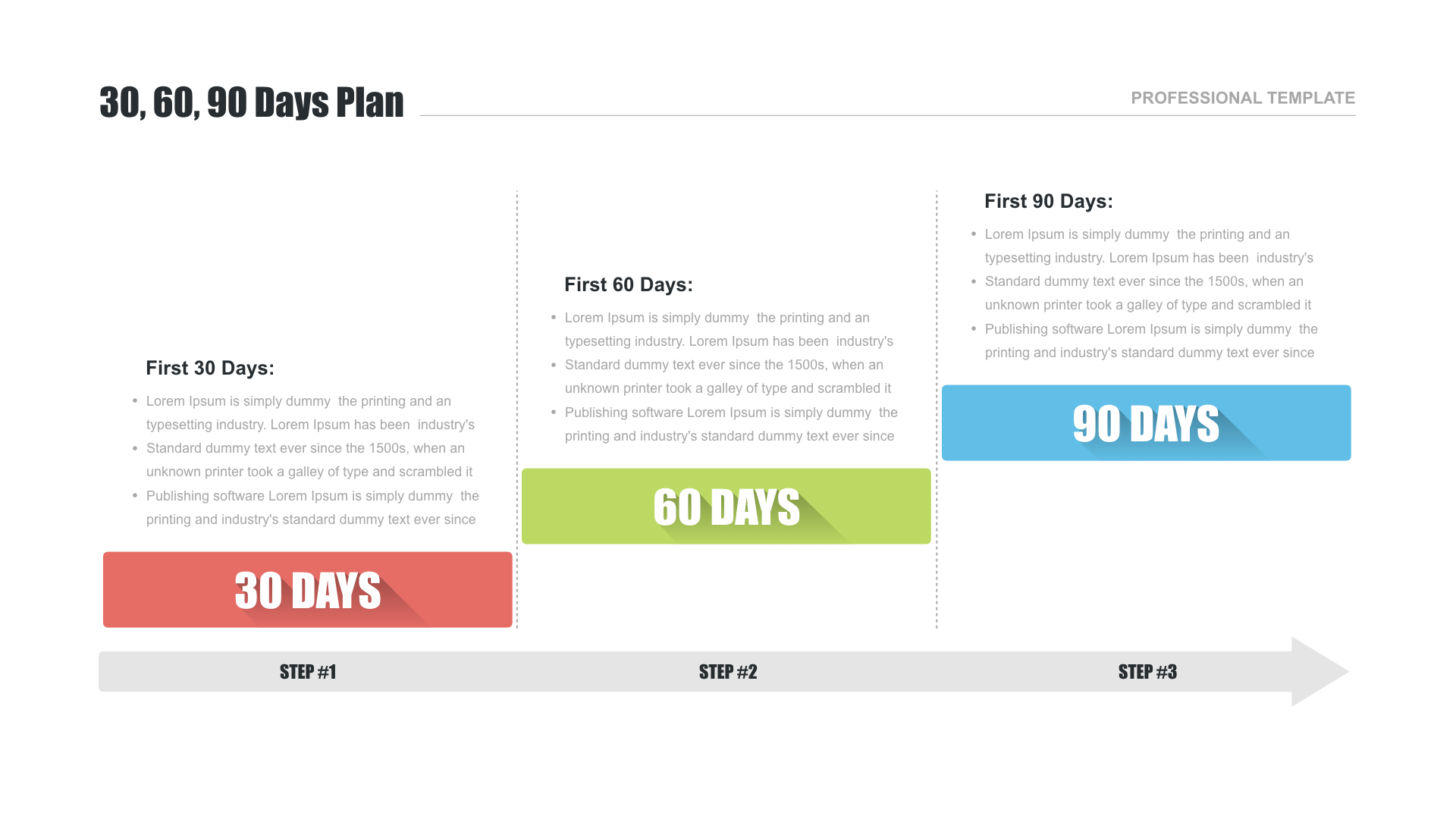 30 60 90 Day Plan For Powerpoint - Free Download Now! intended for 30 60 90 Day Plan Template Powerpoint